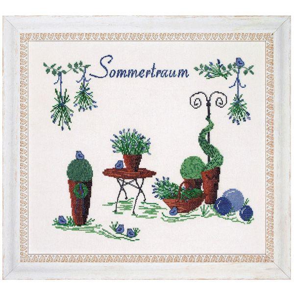 Stickpackung Bild Sommertraum