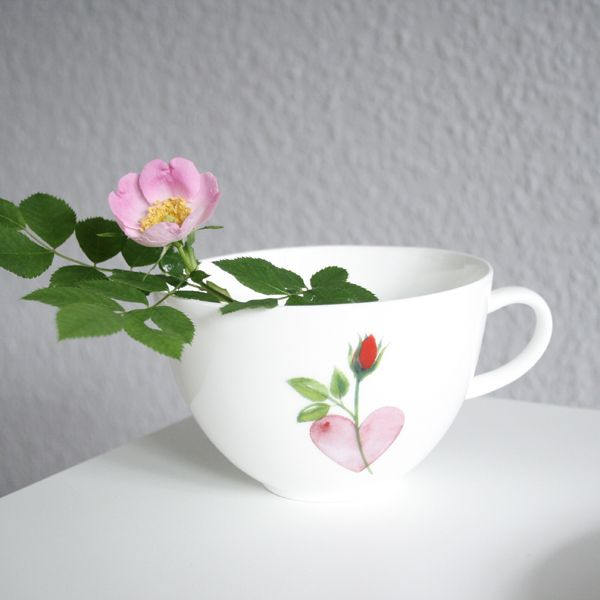 Lovely Rose Obertasse 0,2l