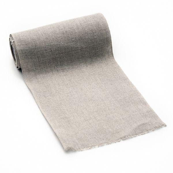 Leinenband natur 16 cm breit - 305-901-160