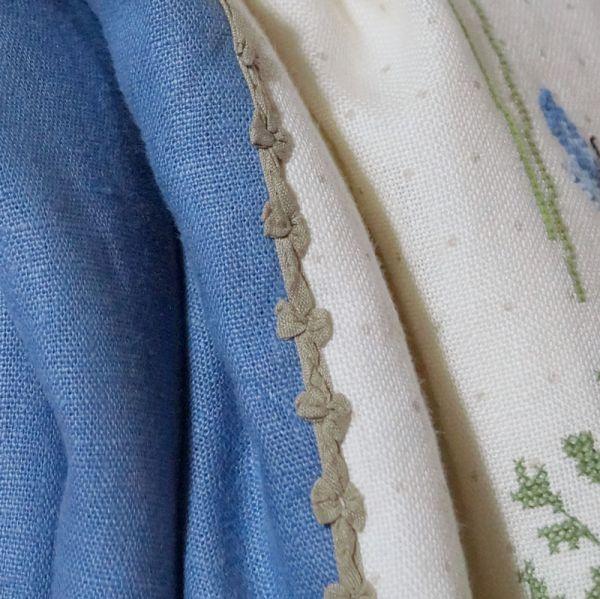 Borte mit Schleifen Promesse  grünbraun 9 mm breit - 6425-3004-009-402