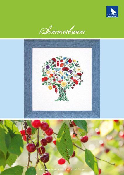 E-Stickmuster Sommerbaum