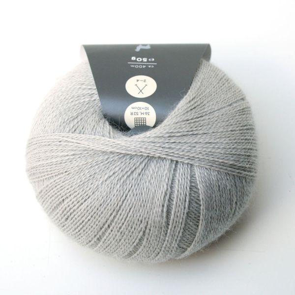 Wolle Piura seidengrau /03