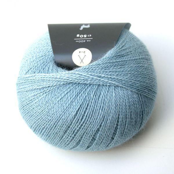 Wolle Piura taubenblau/36