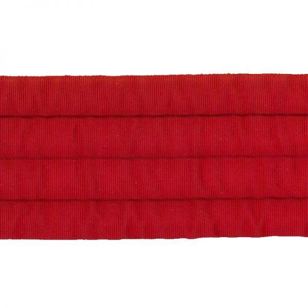 Gurtband rot 35 mm breit