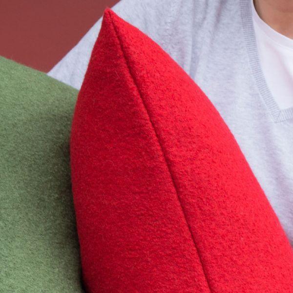 Material-Set Bodenkissen Rot