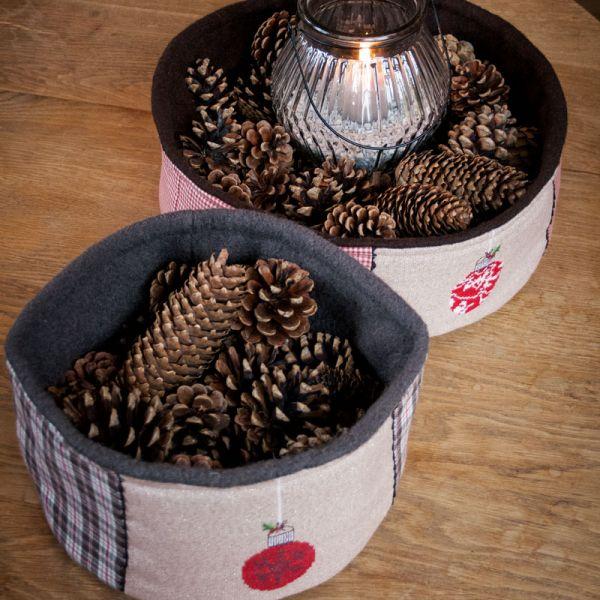 Materialsets Zwei Weihnachtsutensilos