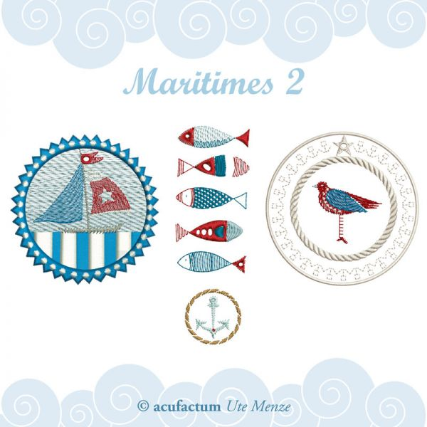 Stickdatei Maritimes 2