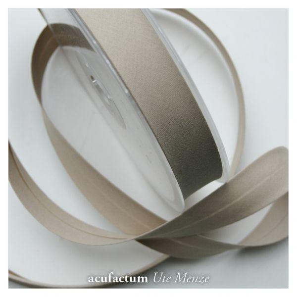 Schrägband uni beige 20mm - 6425-BIA01-20-1010