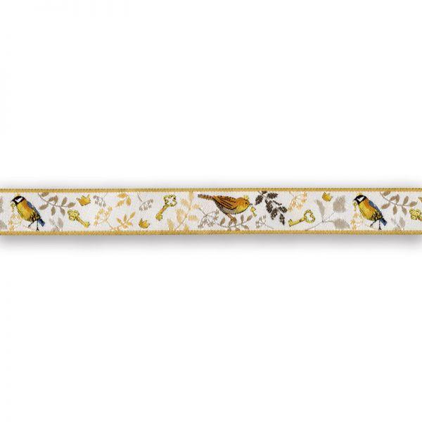 Webband Vogelprinzen 16 mm breit