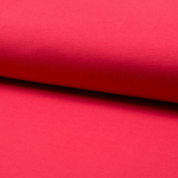 Jersey Pique rot 155 cm breit