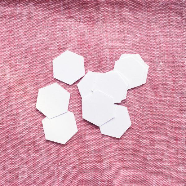 Hexagon Papierschablonen 1/2 inch
