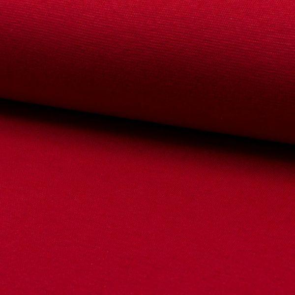 Bündchenware rot 70 - 75 cm breit - 3622-RS0220-015