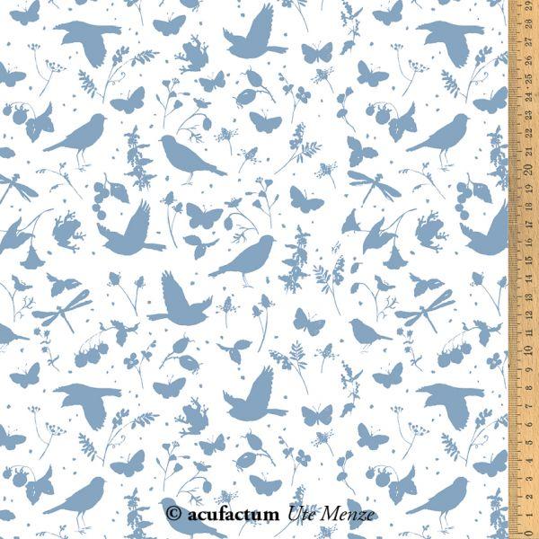 BW-Stoff Vogelsommer