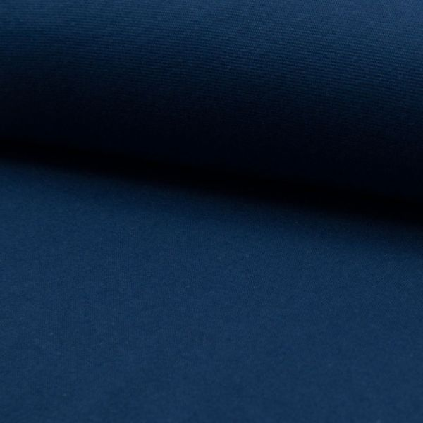 Bündchenware dunkelblau 70 - 75 cm breit - 3622-RS0220-008
