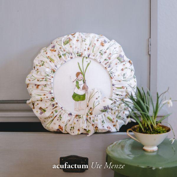 Stickdatei Mädchen mit Schneeglöckchen - 2-4035-125