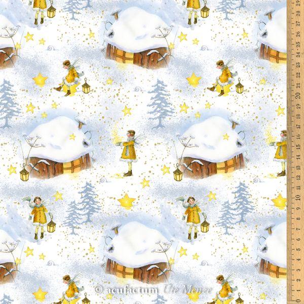 Baumwollstoff Sternenelfe - 3523-825