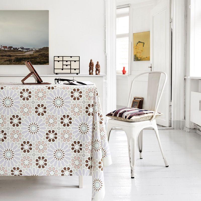 stoff beschichtet 135 cm breit marroc 3 lavendel hellgrau. Black Bedroom Furniture Sets. Home Design Ideas