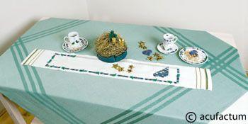 Stickpackung Traumvogel Tischband