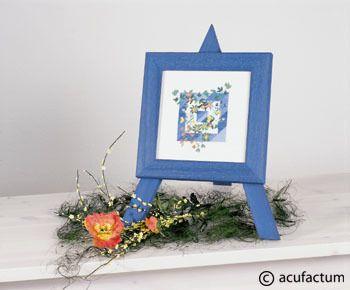 Blume im Quadrat