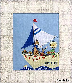 Stickpackung Kleine Seefahrer