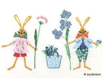 Stickpackung Frühlingsphantasie - 2481