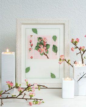 Stickpackung Zauberhafte Apfelblüte
