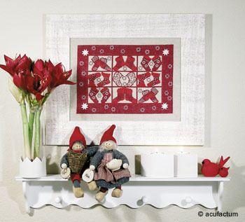 Rote Nikolaussocken Bild