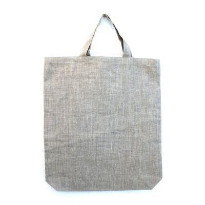 Tasche mit kurzem Griff natur