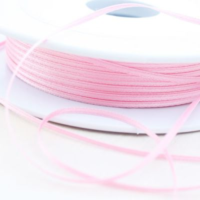 Satinband doppelseitig rosa 1,5 mm breit