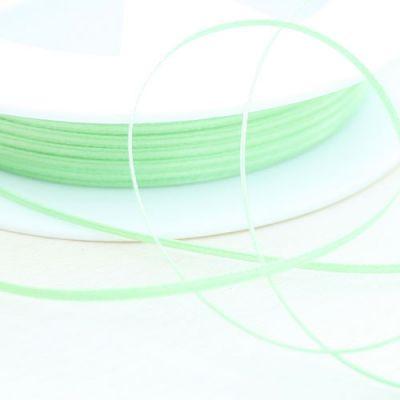 Satinband doppelseitig grün 1,5 mm breit