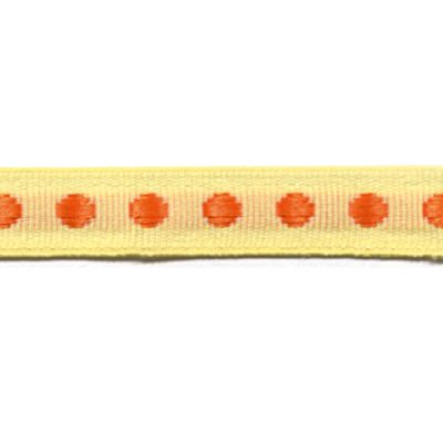 Webband Rythme gelb-orange 10 mm breit