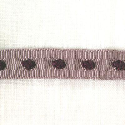 Ripsaband Grain helllila-lila 18 mm breit