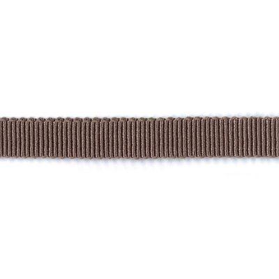Ripsband Dolce graubraun 15 mm breit