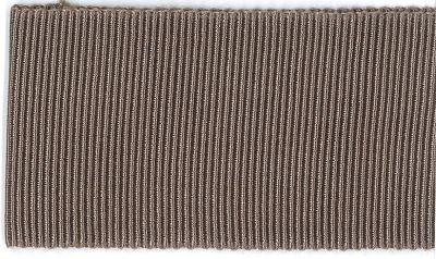 Ripsband Dolce graubraun 40 mm breit