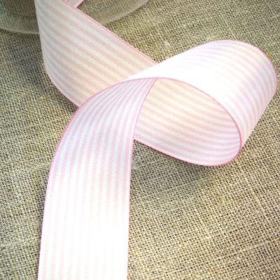 Webband ST Malorosa/weiße Streifen 25 mm breit