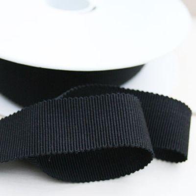 Ripsband Dolce schwarz 25 mm breit
