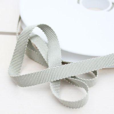Ripsband Dolce graugrün 10 mm breit