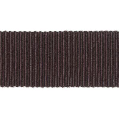 Ripsband Dolce dunkelbraun 25 mm breit