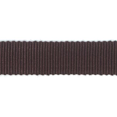 Ripsband Dolce dunkelbraun 15 mm breit