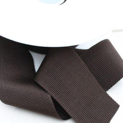 Ripsband Dolce dunkelbraun 40 mm breit