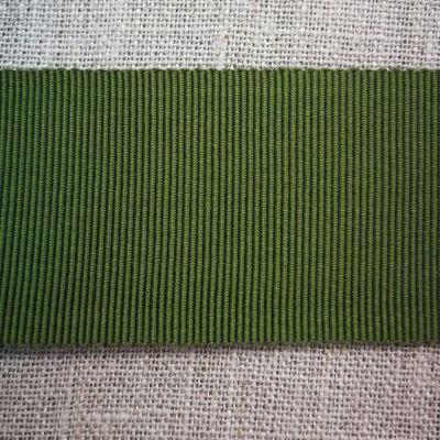 Ripsband Dolce dunkelgrün 40 mm breit