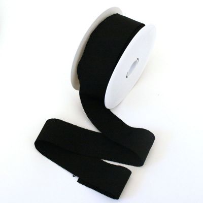Ripsband Dolce schwarz 40 mm breit