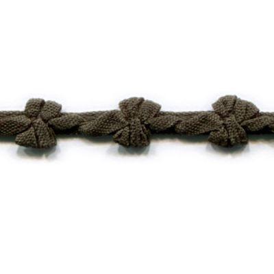 Borte mit Schleifen Promesse olivgrün 9 mm breit