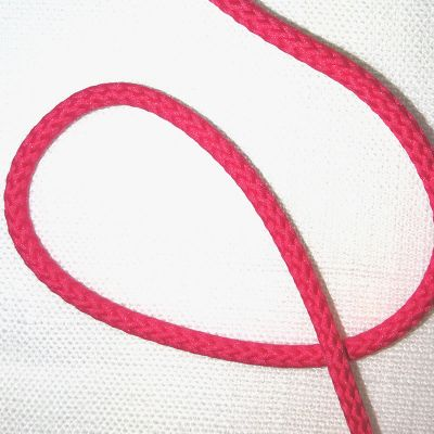 Kordel pink  gedreht  4 mm