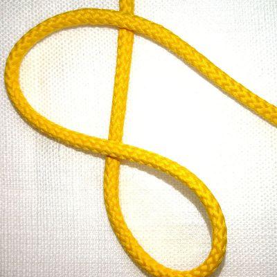 Kordel gelb  gedreht  4 mm