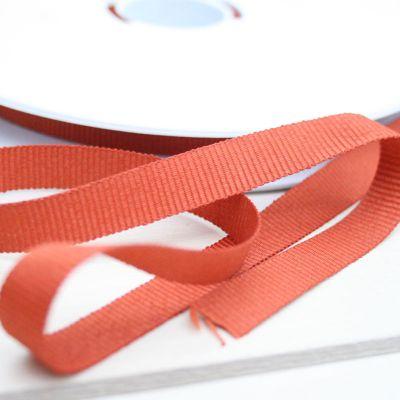Ripsband GrosGrain orange 10 mm breit