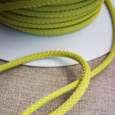 Kordel hellgrün  gedreht  4 mm