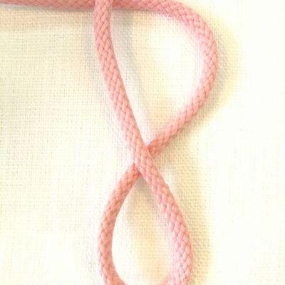 Kordel rosa gedreht  4 mm