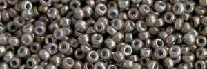 Mini-Perlen rauchgrau