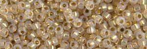 Mini-Perlen kristallgold